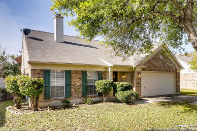 Cibolo Single Family Home Active Option: 318 Burkwood Ln