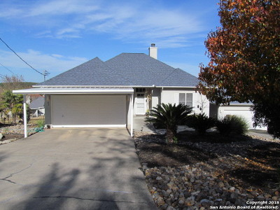 Canyon Lake Single Family Home Price Change: 103 Royal Troon Ln