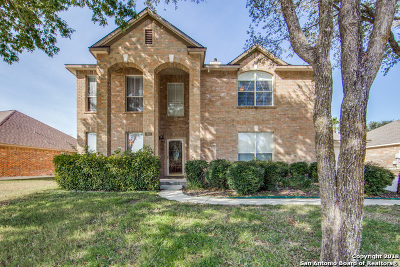 Schertz Single Family Home For Sale: 1601 Bench Trail