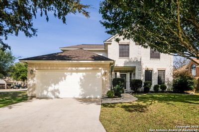 Cibolo Single Family Home Price Change: 100 Valona Dr