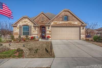 Cibolo Single Family Home Price Change: 122 Sunset Heights