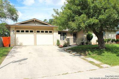 Leon Valley Single Family Home Active Option: 6207 Setting Sun St