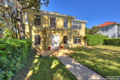 San Antonio Single Family Home For Sale: 315 W Summit Ave