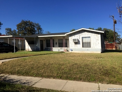San Antonio Single Family Home Active Option: 507 General Krueger Blvd