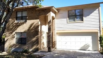 San Antonio Single Family Home Price Change: 10542 Arbor Bluff