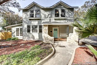 San Antonio Single Family Home For Sale: 275 Post Ave