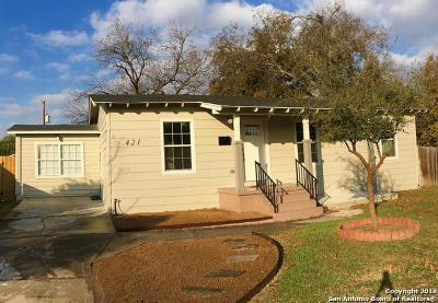 San Antonio Single Family Home Back on Market: 421 Sutton Dr