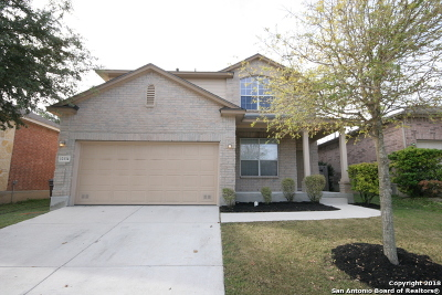 Alamo Ranch Single Family Home Active Option: 12134 Medina Mill