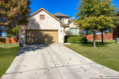 Helotes Single Family Home Active Option: 8939 Saxon Forest