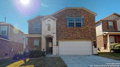 San Antonio Single Family Home For Sale: 12866 Limestone Way