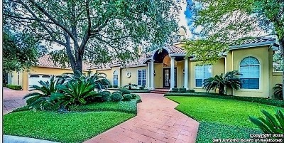 San Antonio Single Family Home For Sale: 1 Clubhouse Green