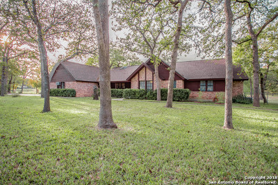 La Vernia Single Family Home For Sale: 206 Oak Bend Dr