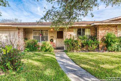 San Antonio Single Family Home Active Option: 123 E Nottingham Dr