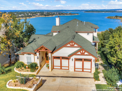 Canyon Lake Single Family Home Active Option: 728 Lake Frst