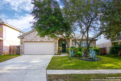 Helotes Single Family Home Active Option: 8822 Feather Trail