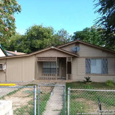 San Antonio Single Family Home For Sale: 707 Briggs Ave