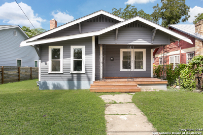 Single Family Home For Sale: 323 Burleson