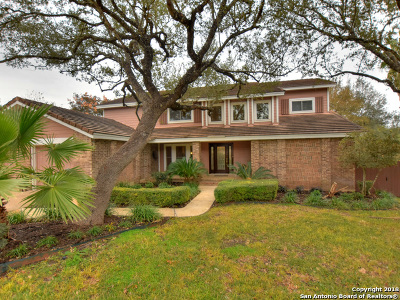 San Antonio Single Family Home Active RFR: 15914 Mission Ridge