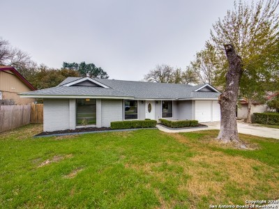 San Antonio Single Family Home Back on Market: 16723 Fort Oswego St