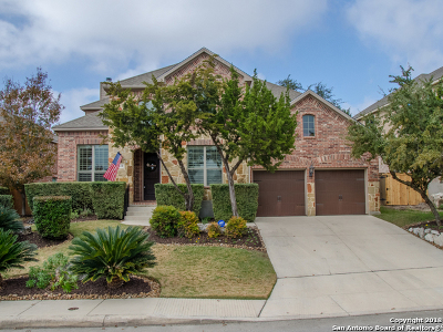 Cibolo Canyons Single Family Home Active Option: 3511 Crest Noche Dr