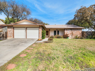 Leon Valley Single Family Home Active Option: 6819 Timberhill