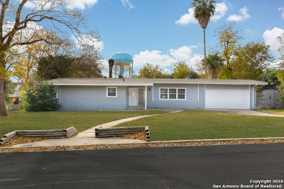 Terrell Hills Single Family Home For Sale: 1424 Wiltshire Ave