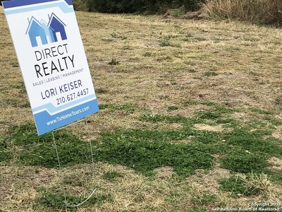 Helotes Residential Lots & Land New: 14107 Panther Valley