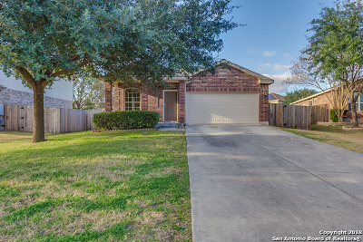 Cibolo Single Family Home For Sale: 344 Silver Wing