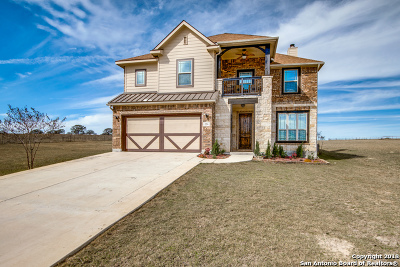 La Vernia TX Single Family Home For Sale: $424,500