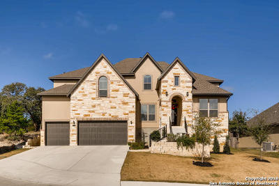 Boerne Single Family Home New: 8715 Sonoma Vista