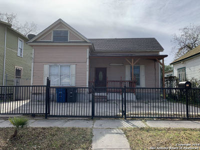 Single Family Home New: 906 Burleson