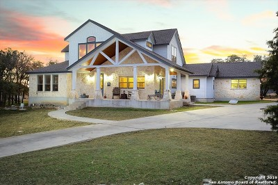 New Braunfels Single Family Home Price Change: 525 Suncrest Dr