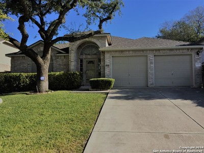 Cibolo Single Family Home Active Option: 212 Corsica Dr