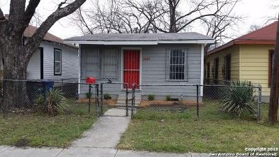 Single Family Home New: 1201 Perez St