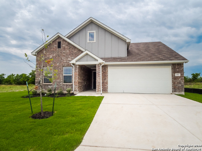 New Braunfels Single Family Home Back on Market: 3992 Legend Meadows