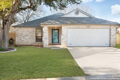 San Antonio Single Family Home Active Option: 4919 Pecan Estate