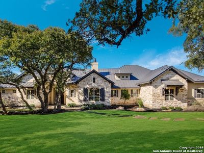 Boerne Single Family Home Active Option: 26945 Ranchland View