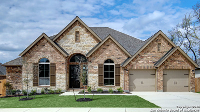 Boerne Single Family Home New: 128 Boulder Creek