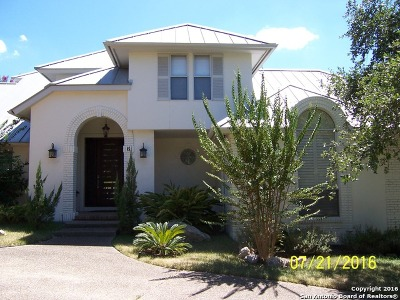 San Antonio Single Family Home For Sale: 6 Bishops Green