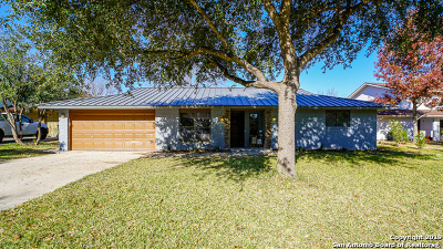 San Antonio Single Family Home Back on Market: 3003 Oneida Dr