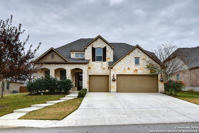 Alamo Ranch Single Family Home New: 12326 Maurer Ranch