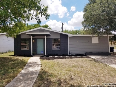San Antonio TX Single Family Home Price Change: $116,900