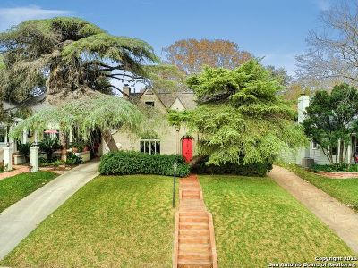 Alamo Heights Single Family Home For Sale: 311 Cloverleaf Ave