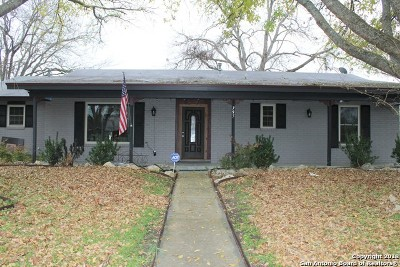 Seguin Single Family Home Active Option: 795 Paige St