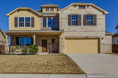 Schertz Single Family Home For Sale: 5490 Cypress Pt