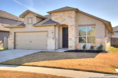 Converse Single Family Home New: 10454 Bulwark Peak