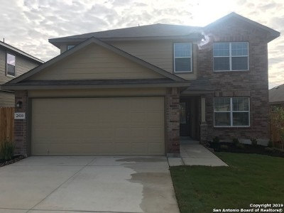 Bexar County Single Family Home For Sale: 2810 Davis Trace