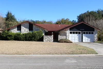 Seguin Single Family Home New: 1745 Willow Creek Rd