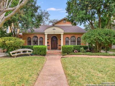 Bexar County Single Family Home New: 127 W Rosewood Ave