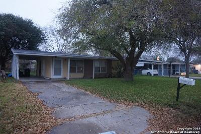 San Antonio Single Family Home Active Option: 159 Ithaca Dr